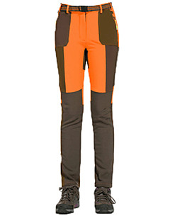 tanie Turystyczne spodnie i szorty-Damskie Turistické kalhoty Na wolnym powietrzu Wiatroodporna Zdatny do noszenia zatrzymywania ciepła Zima Spodnie Narciarstwo Piesze