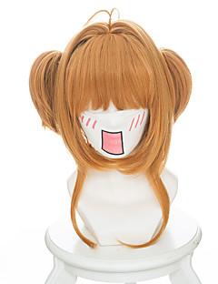 コスプレウィッグ カードキャプターさくら Sakura Kinomodo アニメ系 コスプレウィッグ 35 cm 耐熱繊維 女性用