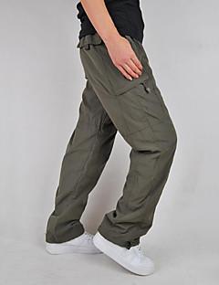 tanie Turystyczne spodnie i szorty-Męskie Spodnie cargo Na wolnym powietrzu Wiatroodporna Zdatny do noszenia Sporty zimowe Zima Spodnie Wspinaczka Multisport