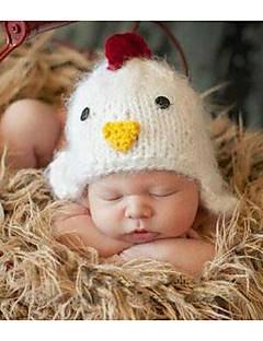 billige Sett med babyklær-Baby Unisex Tøjsæt Daglig Ensfarvet, Bomuld Alle årstider Uden ærmer Simple Hvid