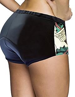 billige Sykkelklær-ILPALADINO Dame Undershorts til sykling / Sykkelshorts Sykkel Shorts / Fôrede shorts / Bunner 3D Pute, Fort Tørring, Anatomisk design
