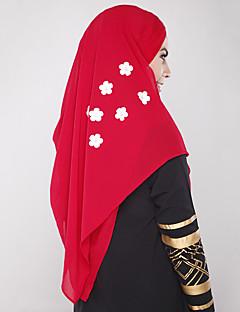 tanie Etniczne & Cultural Kostiumy-Etniczny i religijny Hidżab Abaya Arabian Dress Damskie Festiwal/Święto Kostiumy na Halloween Black Beige Gray Czerwony Niebieski