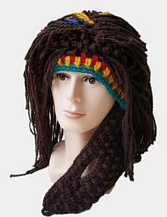 cheap Halloween Props-American Indian Hats Brown Bonded Cosplay Accessories Christmas