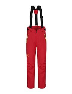 お買い得  スキーウェア-女性用 スキーパンツ ウォーム 防水 防風 耐久性 静電気防止 通気性 キャンピング&ハイキング スキー 戸外運動 バックカントリー ベルベットシフォン