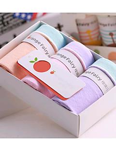 billige Undertøj og sokker til piger-Pige Undertøj Ensfarvet, Bomuld Alle årstider Mikroelastisk Regnbue