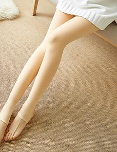 tanie Getry-Damskie Podszyte polarem Legging-Modern Style,Jendolity kolor