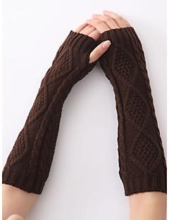 cheap Gloves-Unisex Vintage Work Casual Elbow Length Fingerless