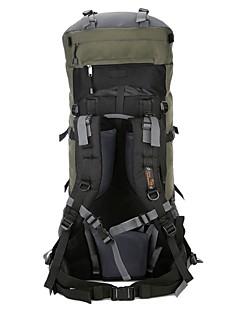 billiga Ryggsäckar och väskor-80L Ryggsäckar / Ryggsäck / ryggsäck - Backcountry, Bergsklättring, Resor Camping, Utomhusträning Vattentätt tyg