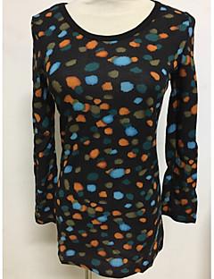 tanie Swetry damskie-Damskie Pulower Geometryczny Długi rękaw