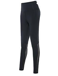 billiga Träning-, jogging- och yogakläder-Dam Tights för jogging - Svart, Grå sporter Cykling Tights / Leggings Sportkläder Snabb tork, Butt Lift