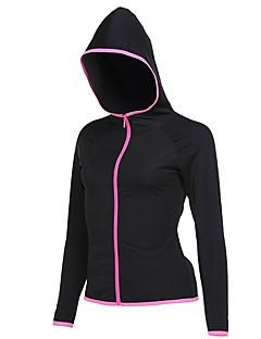billiga Träning-, jogging- och yogakläder-Alla T-shirt för jogging - Rosa, Grå, Marinblå sporter Collegetröja Långärmad Sportkläder Snabb tork