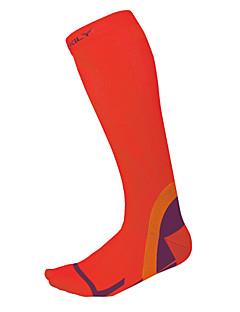 billige Sykkelklær-Sport Sokker / Athletic Socks / Anti-skli sokker Sykkel / Sykling Kompresjonsstrømper Unisex Camping & Fjellvandring / Sykling / Sykkel /