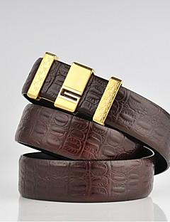 cheap Fashion Belts-Men's Casual Leather Alloy Waist Belt
