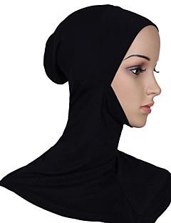 tanie Etniczne & Cultural Kostiumy-Kostiumy Egipskie Hidżab Damskie Festiwal/Święto Kostiumy na Halloween White Black Beige Gray Różowy Jendolity kolor