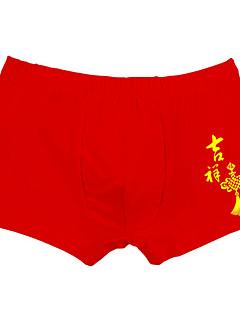 billige Undertøj og sokker til drenge-Børn Drenge Simple Ensfarvet / Ord Bomuld Undertøj og strømper