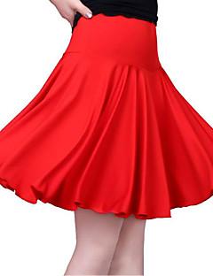 baratos Roupas de Dança Latina-Dança Latina Fundos Mulheres Treino Algodão Em Camadas Sem Manga Caído Saias