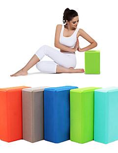 baratos Total Promoção Limpa Estoque-Bloco para Yoga Alta densidade, À prova de humidade, Leve EVA Apoiar e aprofundar Poses, Equilíbrio de ajuda e flexibilidade Para Pilates / Fitness / Ginásio Mulheres / Unisexo Azul, Rosa claro