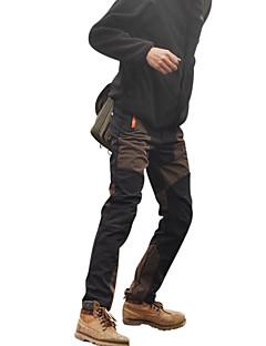 tanie Turystyczne spodnie i szorty-Męskie Spodnie turystyczne Na wolnym powietrzu Odporność na wiatr, Wodoodporny, Keep Warm Wiosna, Jesień, Zima Softshell Spodnie Kemping i turystyka Sport i rekreacja Kolarstwo / Rower XL XXL XXXL