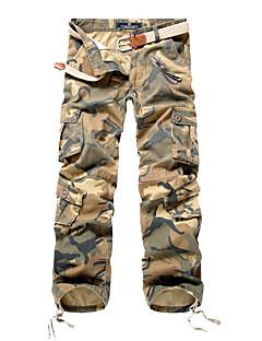 billige Herrebukser og -shorts-Herre Store størrelser Chinos Bukser Ensfarget