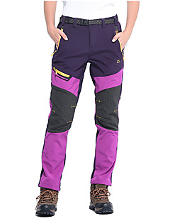 cheap Hiking Trousers & Shorts-Women's Hiking Pants Outdoor Waterproof, Rain-Proof, Thermal / Warm Spring / Fall / Winter Softshell, Terylene Pants / Trousers Camping /