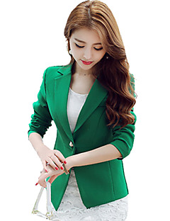 cheap Women's Blazers & Jackets-Women's Work Blazer - Solid Solid Color
