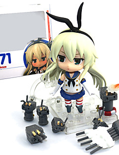 billige Anime cosplay-Anime Action Figurer Inspirert av Kantai Collection PVC 9.5 CM Modell Leker Dukke