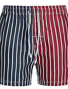 billige Herremote og klær-Herre Rett Chinos Bukser - Trykt mønster, Stripet