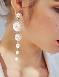 billiga Lolitamode-Lolita Accessoarer Klassisk/Traditionell Lolita Klassisk Vit lolita tillbehör Enfärgad Örhänge Konstädelstenar