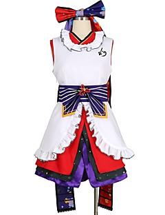 """billige Anime Kostymer-Inspirert av Elsker live Andre Anime  """"Cosplay-kostymer"""" Cosplay Klær Annen Ermeløs Kjole Hansker Sokker Mer Tilbehør Belte / bånd Til"""