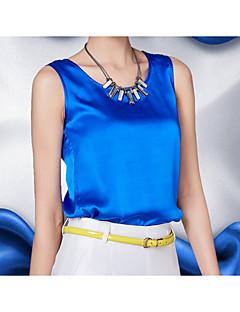 זול חולצות לנשים-אחיד סטרפלס רזה שיק ומודרני עליונית טנק - בגדי ריקוד נשים