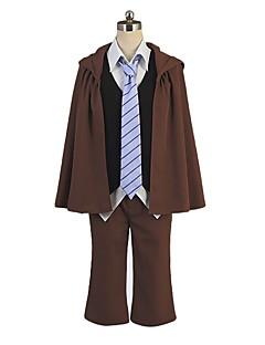 """billige Anime cosplay-Inspirert av Bungo Stray Dogs Cosplay Anime  """"Cosplay-kostymer"""" Cosplay Klær Annen Langermet Frakk / Vest / Genser Til Herre / Dame Halloween-kostymer"""