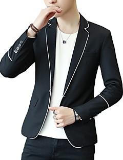 cheap Men's Fashion & Clothing-Men's Active Blazer-Solid Colored