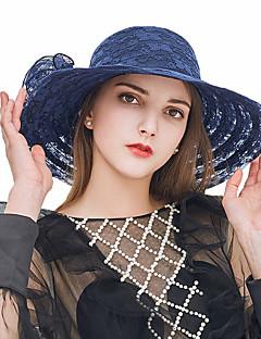 billige Trendy hatter-Dame Søtt Solhatt - Blonde, Ensfarget