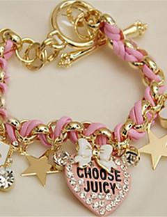billiga Lolitamode-Lolita Accessoarer Söt Lolita Rosa lolita tillbehör Hjärta Armband / Fotledsband Spets Halloweenkostymer