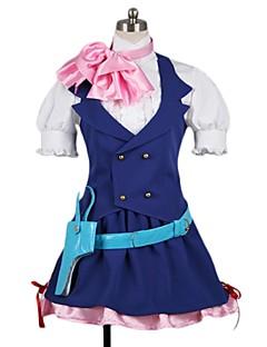 """billige Anime Kostymer-Inspirert av Programmene Frontier Cosplay Anime  """"Cosplay-kostymer"""" Cosplay Klær Annen Kortermet Halsklut Trøye Skjørte Mer Tilbehør Hatt"""