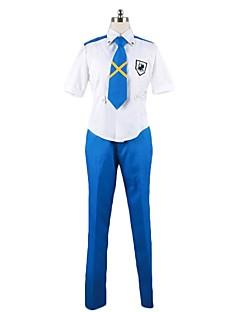 """billige Anime Kostymer-Inspirert av Programmene Frontier Cosplay Anime  """"Cosplay-kostymer"""" Cosplay Klær Annen Kortermet Trøye / Bukser / Slips Til Herre / Dame Halloween-kostymer"""