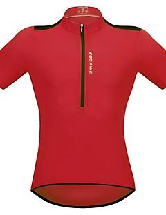 billige Sykkelklær-WOSAWE Kortermet Sykkeljersey - Svart Rød Grønn Blå Sykkel