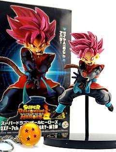billige Anime cosplay-Anime Action Figurer Inspirert av Dragon Ball Son Goku PVC 12 CM Modell Leker Dukke