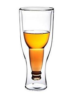 Χαμηλού Κόστους Ποτήρια Κρασιού-Υψηλό γυαλί βορίου Κούπες Τσαγιού Γυαλί Κρασοπότηρο δώρο Boyfriend διπλού τοιχώματος drinkware 1