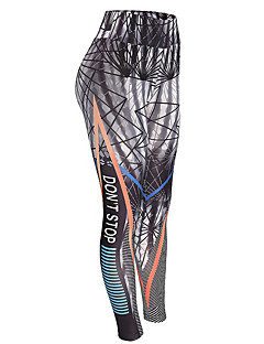 cheap Women's Pants-Women's Print Legging - Print, Geometric High Waist