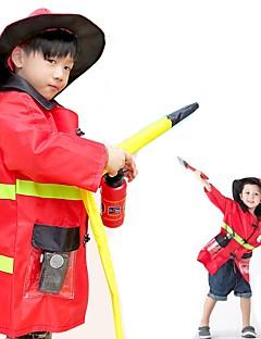 billige Voksenkostymer-karriere Kostymer Cosplay Kostumer Barne Halloween Barnas Dag Festival / høytid Halloween-kostymer Gul Blæk Blå Rød Ferie Flere Uniformer