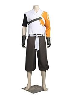 """billige Anime Kostymer-Inspirert av Watch Flere Kostymer Anime  """"Cosplay-kostymer"""" Cosplay Klær / Cosplay Topper / Underdele Lolita Langermet Topp / Bukser / Sjal Til Herre / Dame Halloween-kostymer"""
