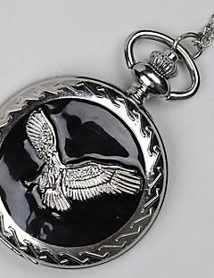 ieftine Ceasuri de Cupluri-Bărbați Pentru cupluri Quartz Ceas de buzunar Ceas Casual Chineză Ceas Casual Aliaj Bandă Vintage Casual Cool Argint