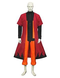 """billige Anime cosplay-Inspirert av Naruto Naruto Uzumaki Anime  """"Cosplay-kostymer"""" Cosplay Klær Annen Langermet Frakk Topp Bukser Til Herre Dame"""