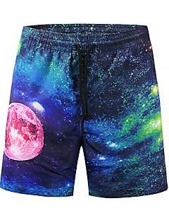 billige Herrebukser og -shorts-Herre Aktiv Gatemote Chinos Bukser Fargeblokk