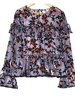 billige Bluse-Dame-Ternet Basale Bluse