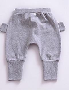 billige Bukser og leggings til piger-Geometrisk Trykt mønster Pigens Polyester Forår Kjole Grå Gul Lyseblå