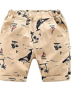 billige Drengebukser-Drenge Aktiv Trykt mønster Shorts