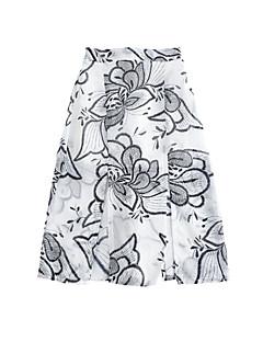 billige Pigenederdele-Børn Pige Blomstret Nederdel