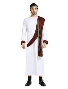 billige Voksenkostymer-Egyptiske Kostymer Drakter Unisex Halloween Karneval De dødes dag Første april Maskerade Valentinsdag Bursdag Nytt År Barnas Dag Festival